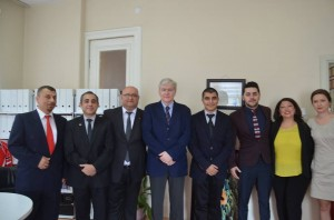 Kanada Büyükelçisi Sayın John Holmes merkezimizi ziyaret etti