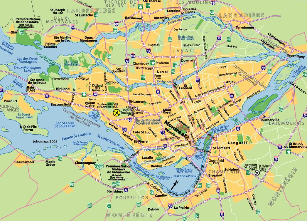 Kanada montreal ehri montreal haritas 2018 kanada k lt r merkezi - Office du tourisme de montreal ...
